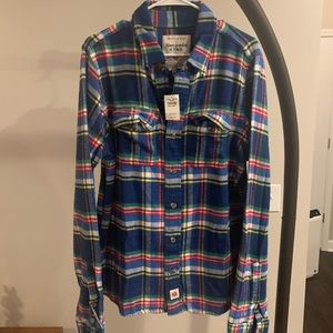 Mens Abercrombie & Fitch's 'American Made' Flannel